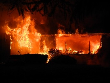 first house fire