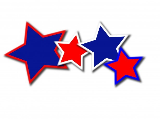 This image has an empty alt attribute; its file name is red-white-n-blue-stars.jpg